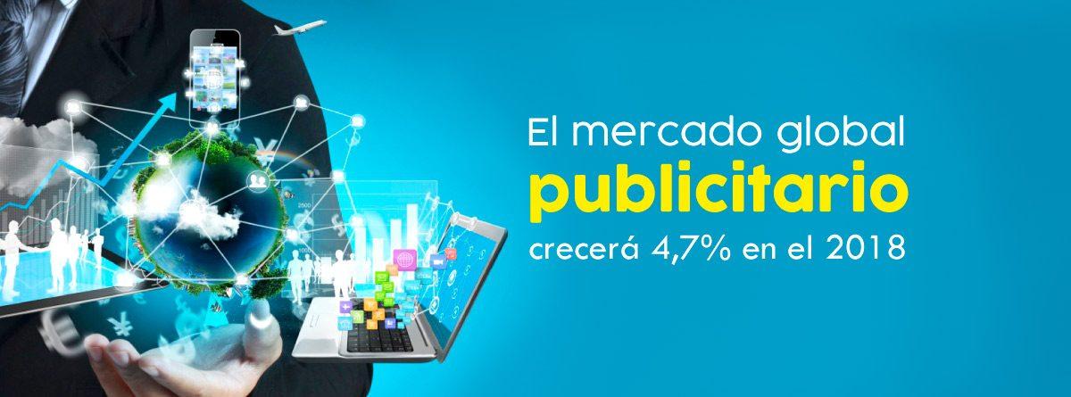 El mercado global publicitario
